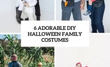 6 adorable diy hallowene family costumes cover