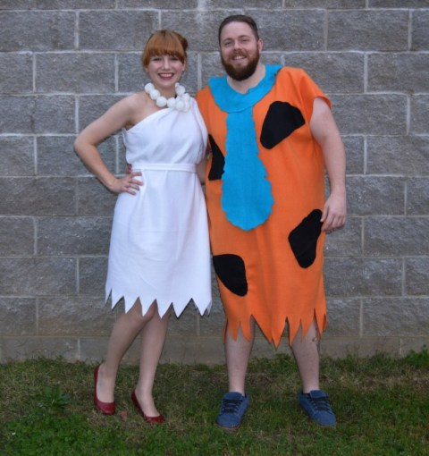 Handmade Fred Flinstone outfit