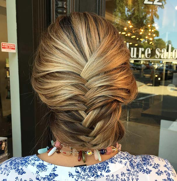 Fishtail Braid Updo for Beautiful Braided Updos