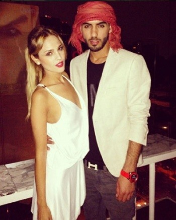 omar borkan with girls