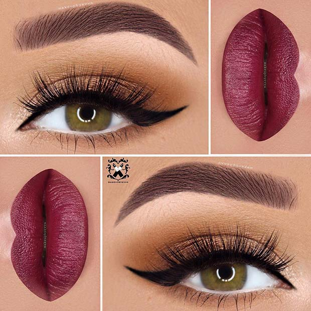 Fall Makeup for Makeup Ideas for Thanksgiving Dinner