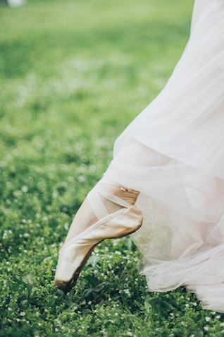 Ballet themed bridal session with a Russian ballet principal dancer