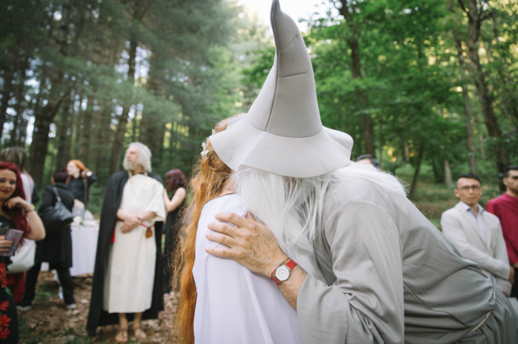 What a LOTR wedding without Gandalf