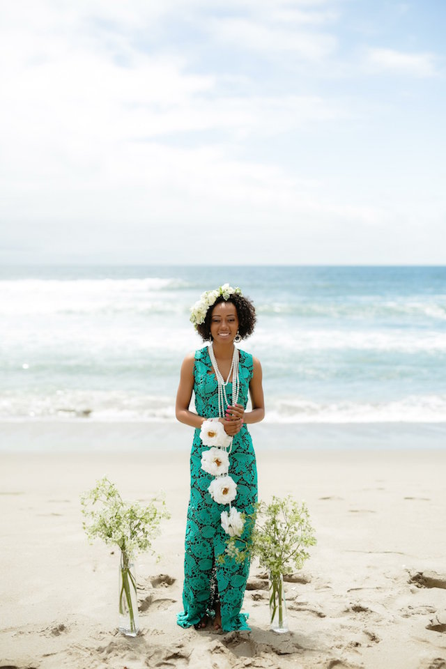 Beach wedding in Cape Verde