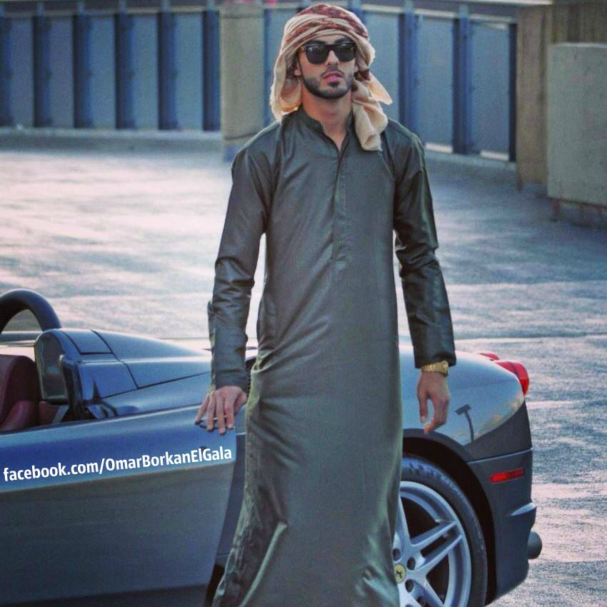 how to dress like omar borkan