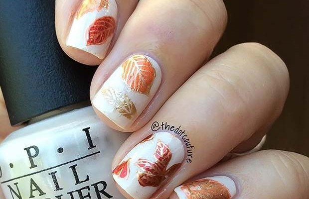 So, you may be thinking about what you are going to wear. One way you can  add a fall and Thanksgiving vibe to your look is with nails. - 21 Cute Thanksgiving Nail Ideas Beauty