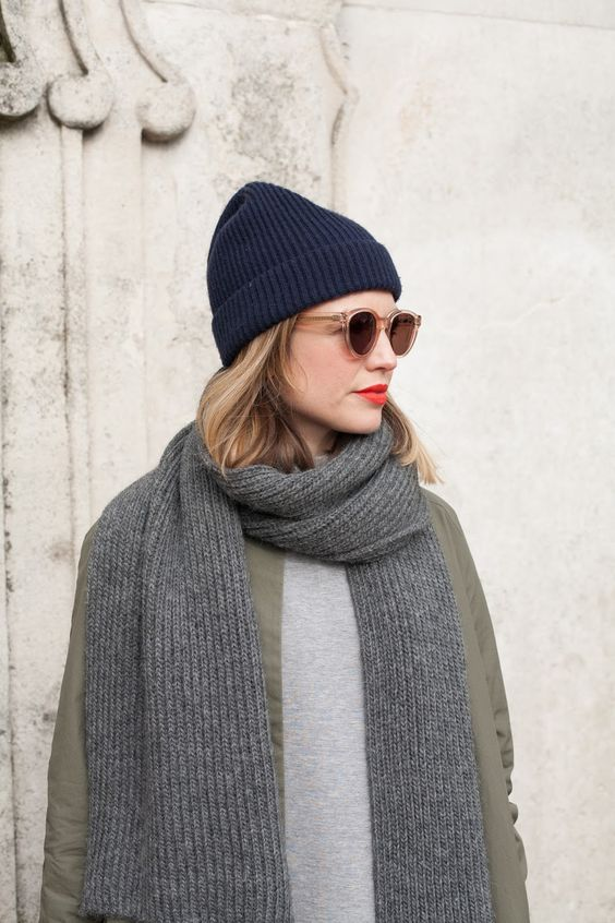 a classic sleek beanie is any color is always a great idea