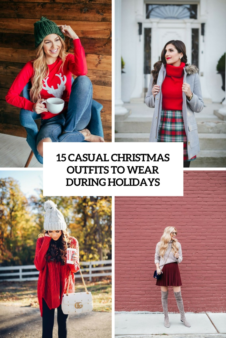 casual christmas outfits to wear during holidays cover
