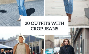 Cool Winter Outfits With Crop Jeans