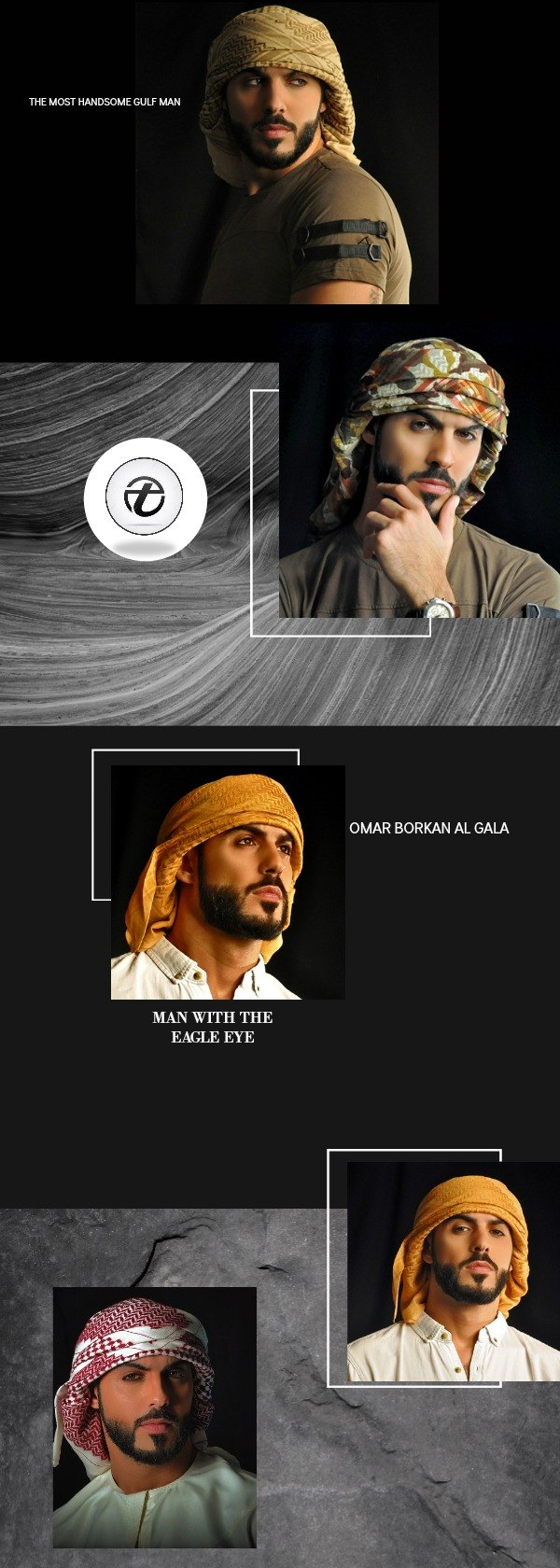 latest and hottest pictures of omar borkan