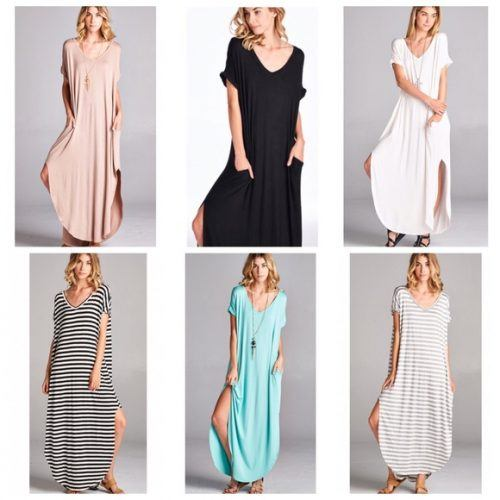 Oversized-Slit-Dress-500x500 Oversized Styles- 30 Ideas on How to Wear Oversized Clothes