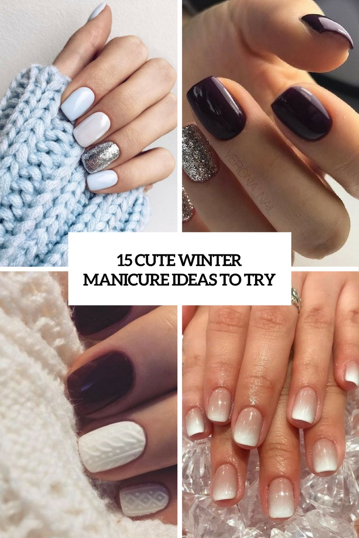 cute winter manicure ideas to try cover