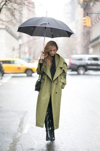 fashion-2015-10-rainy-day-outfit-idea-style-heroine-main-333x500 25 Ideas on what to wear to work when its raining