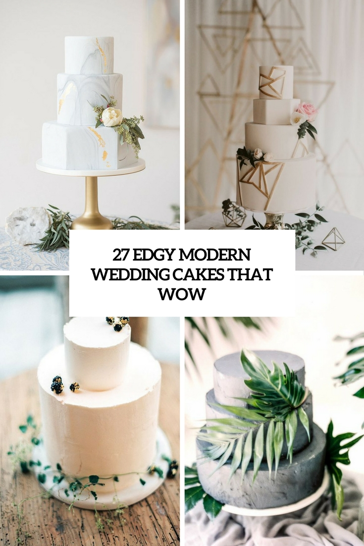edgy modern wedding cakes that wow cover