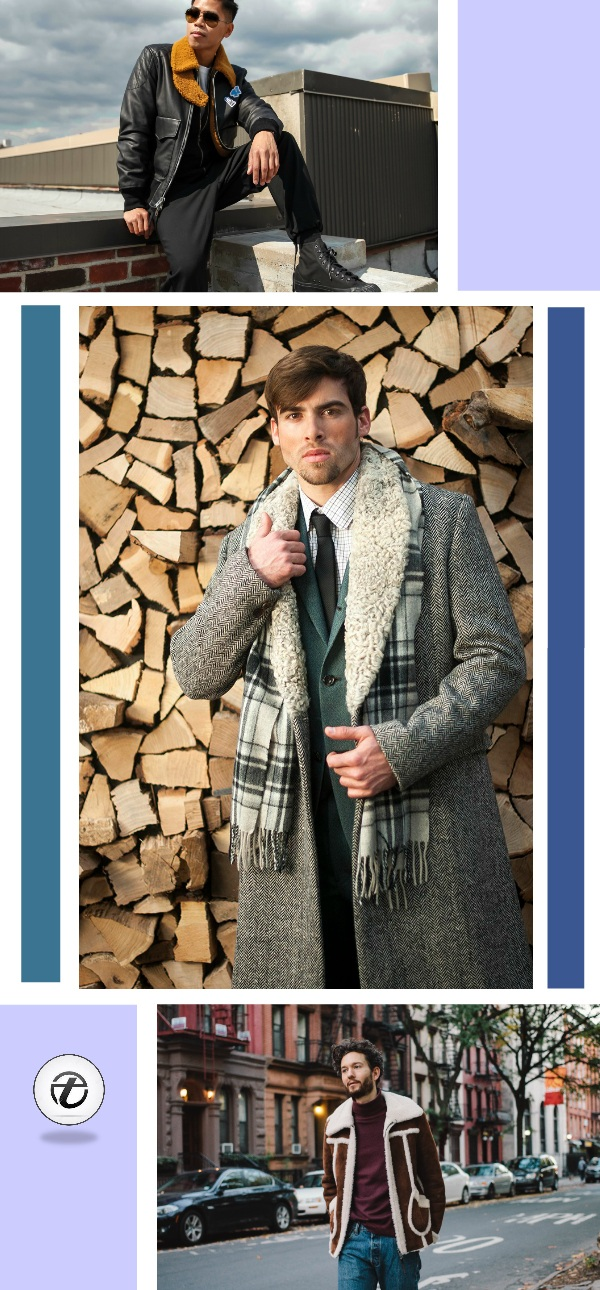 Shearling-Jacket-Men-Outfits Men Shearling Jacket Outfits-22 Ways To Wear Shearling Jacket