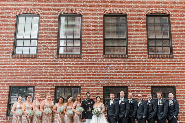 Cork Factory wedding