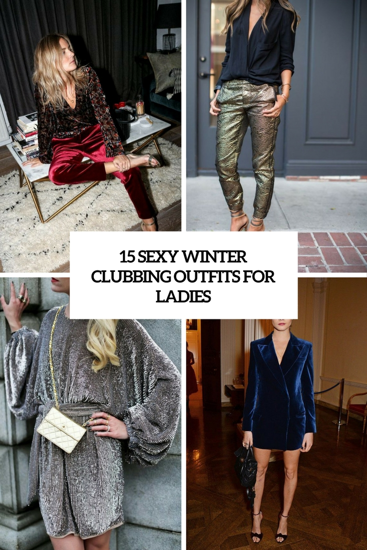 sexy winter clubbing outfits for ladies cover