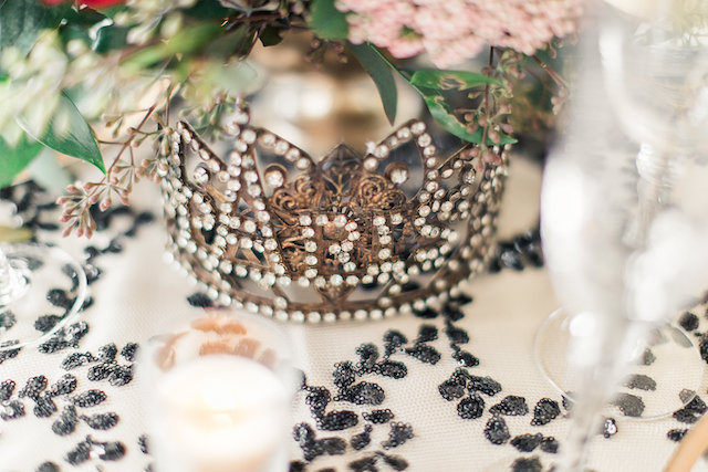 Crown wedding details