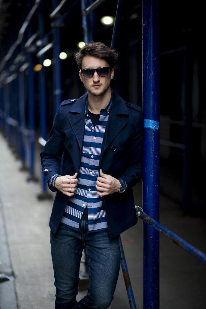 Men-Peacoat-Outfit4-683x1024 Men Peacoat Outfits – 20 Ways to Wear a Peacoats for Guys