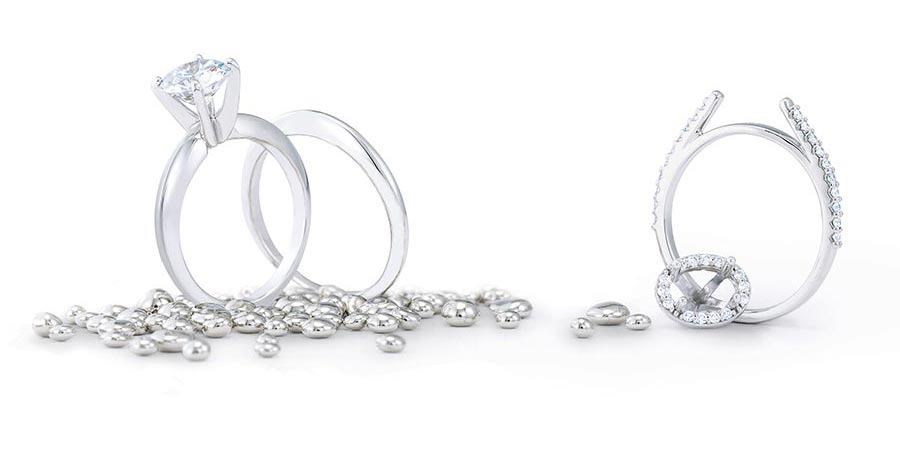 platinum jewelry strongest crown prongs for your beautiful diamond engagement ring