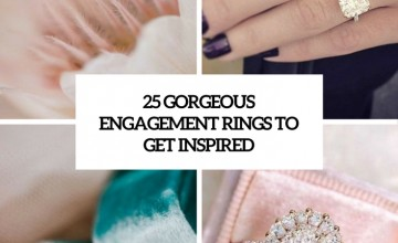 gorgeous engagement rings to get inspired cover