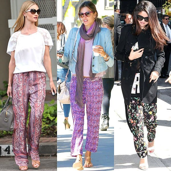 Celebrity-Style-Hippie-Pants-Outfit 25 Best Ideas on How to Wear Hippie Pants for Women