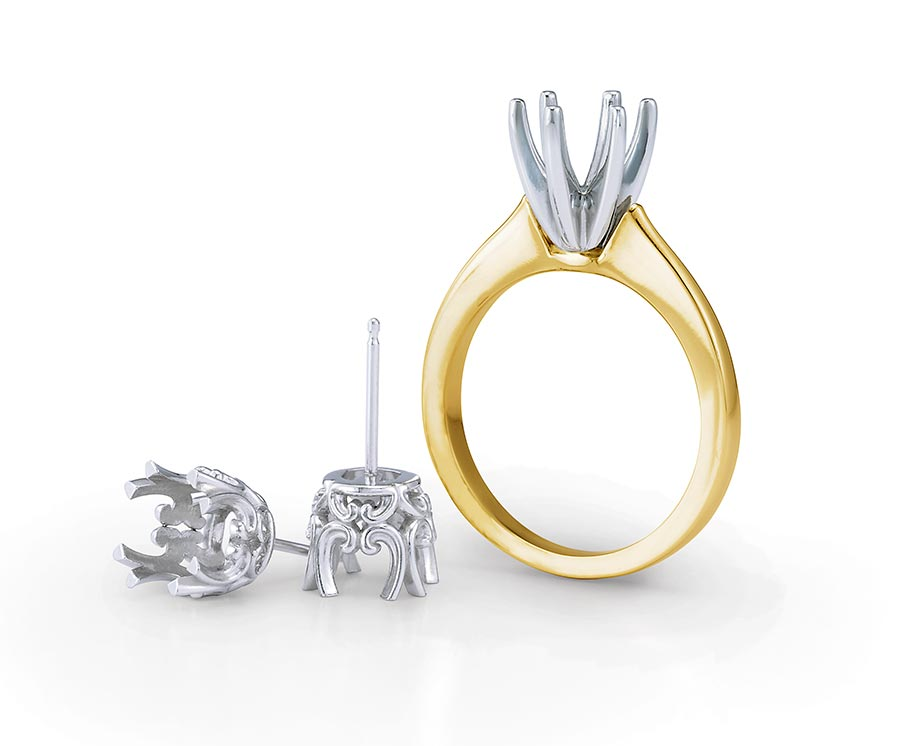 platinum jewelry strongest crown prongs for your beautiful diamond engagement ring gold ring platinum prongs