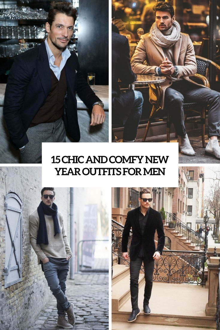 chic and comfy new year outfits for men cover