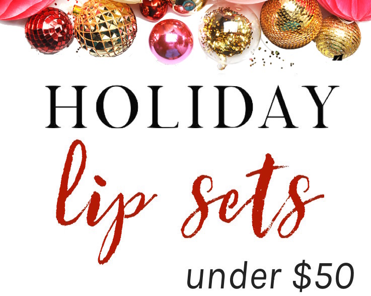 From the most covetable liquid lipsticks to pout-perfecting lip glosses, these holiday lip sets offer a great variety of versatile, pigment-rich shades at a bargain price!