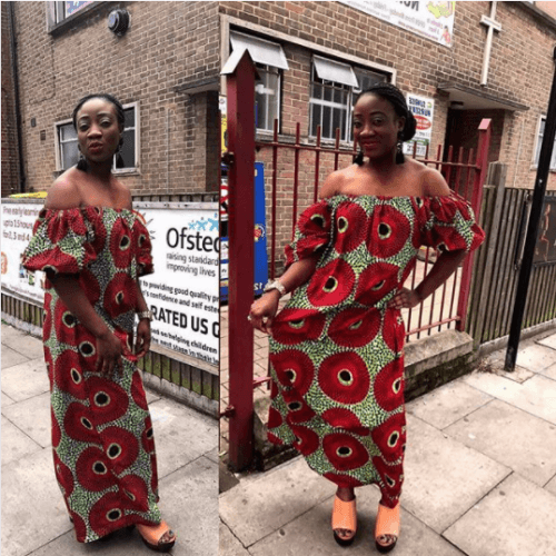 Oversized-Ankara-Dresses-500x500 Oversized Styles- 30 Ideas on How to Wear Oversized Clothes