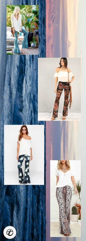 How-to-Wear-Floral-Pants-in-a-Hippie-Style-366x1024 25 Best Ideas on How to Wear Hippie Pants for Women