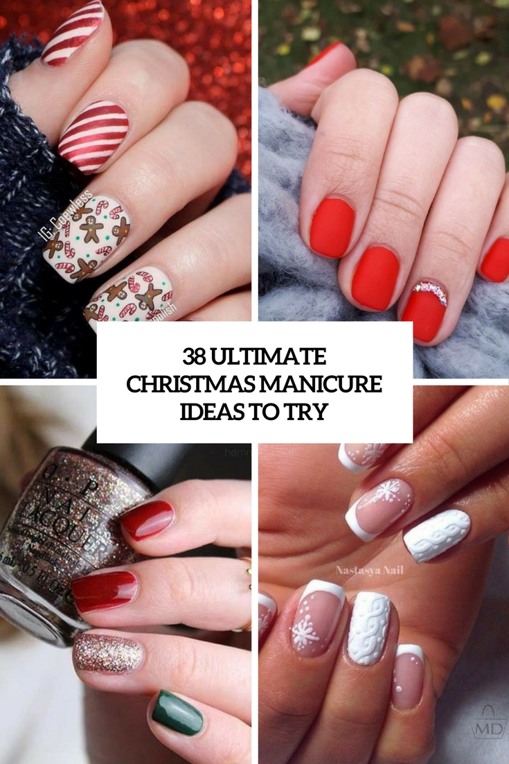 ultimate christmas manicure ideas to try cover