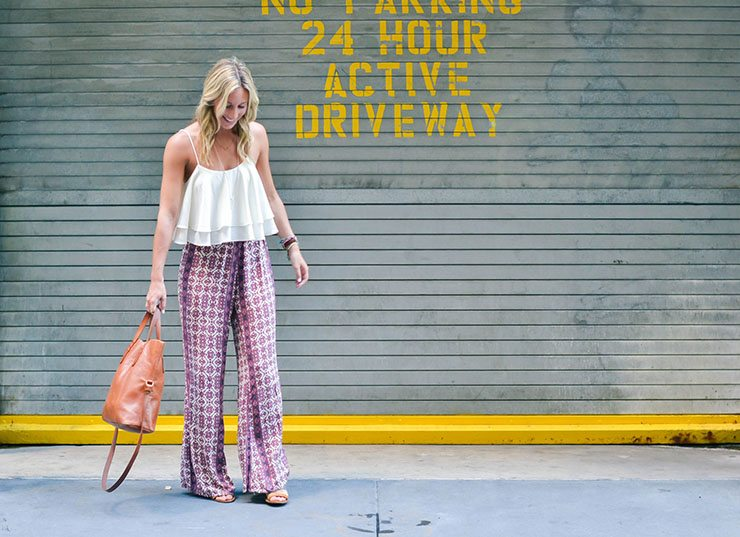 Spring-Style-Hippie-Pants- 25 Best Ideas on How to Wear Hippie Pants for Women