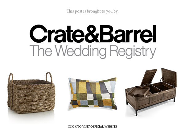 crate and barrel wedding registry ideas 2018 official website banner link below