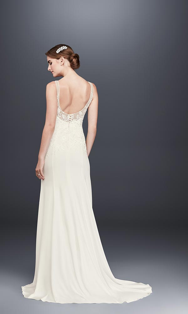4 Wedding Dress Trends We're Fully Embracing with David's Bridal #weddingdresses #laceweddingdresses #weddingdressesunder800 #underbudget