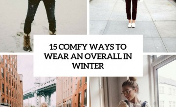 comfy ways to wear an overall in winter cover
