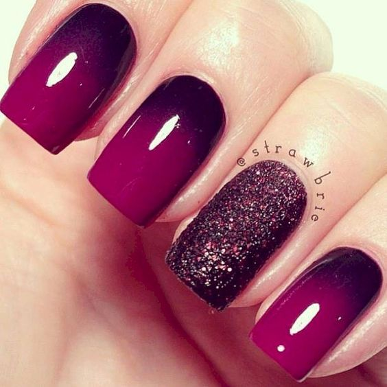 4663b76a75fc2399f8665de5c2f53587 Winter Nail Art Ideas - 80 Best Nail Designs This Winter