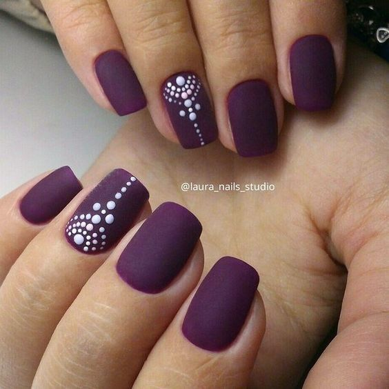 090753b57eb36604541af37e134d6cd2 Winter Nail Art Ideas - 80 Best Nail Designs This Winter