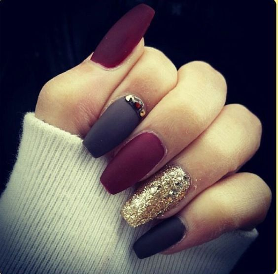 ba145a46568e5bfdb24ee6eba23bf753 Winter Nail Art Ideas - 80 Best Nail Designs This Winter