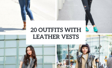 Leather Vest Outfits For Ladies
