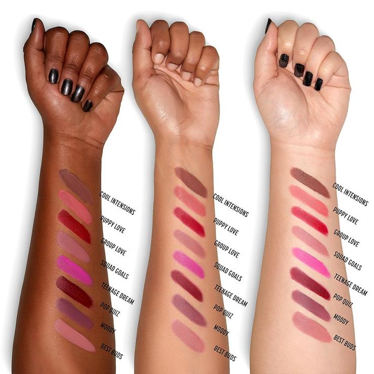 NYX Powder Puff Lippie Powder Lip Cream swatches