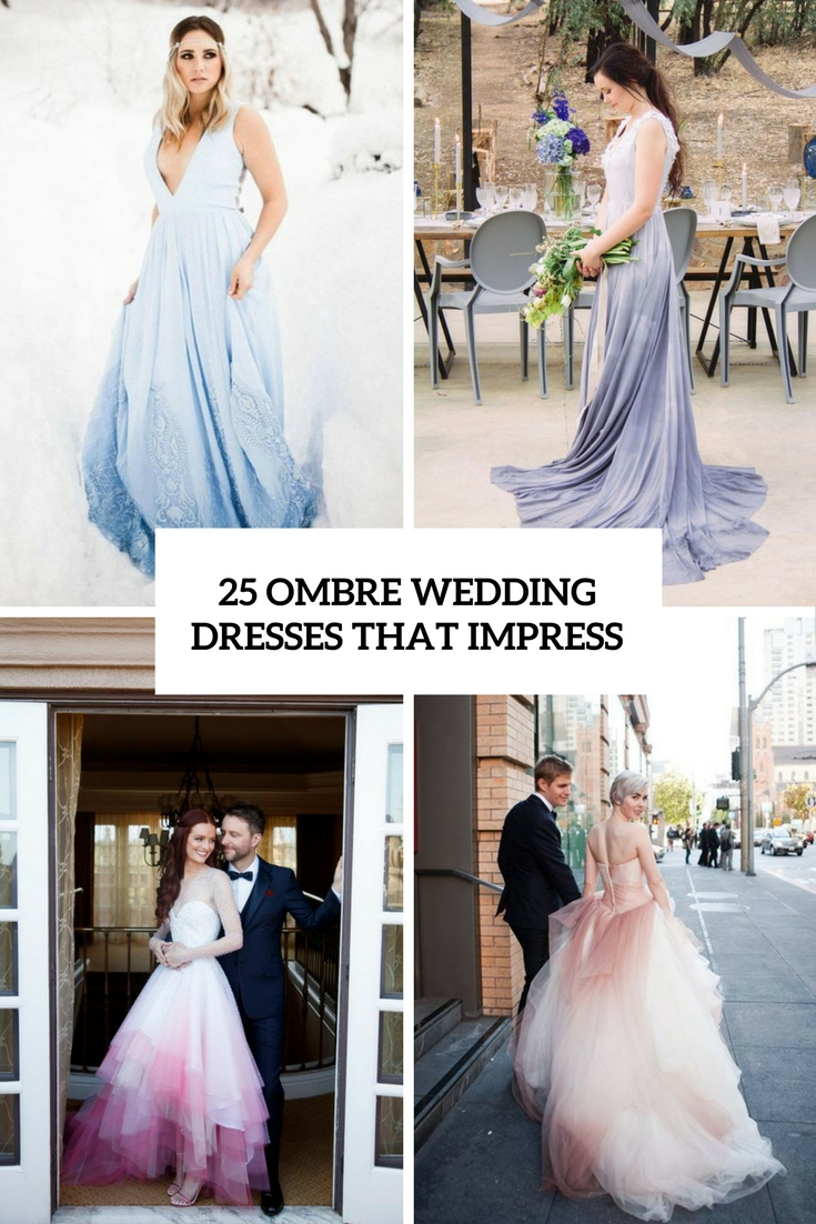 ombre wedding dresses that impress cover