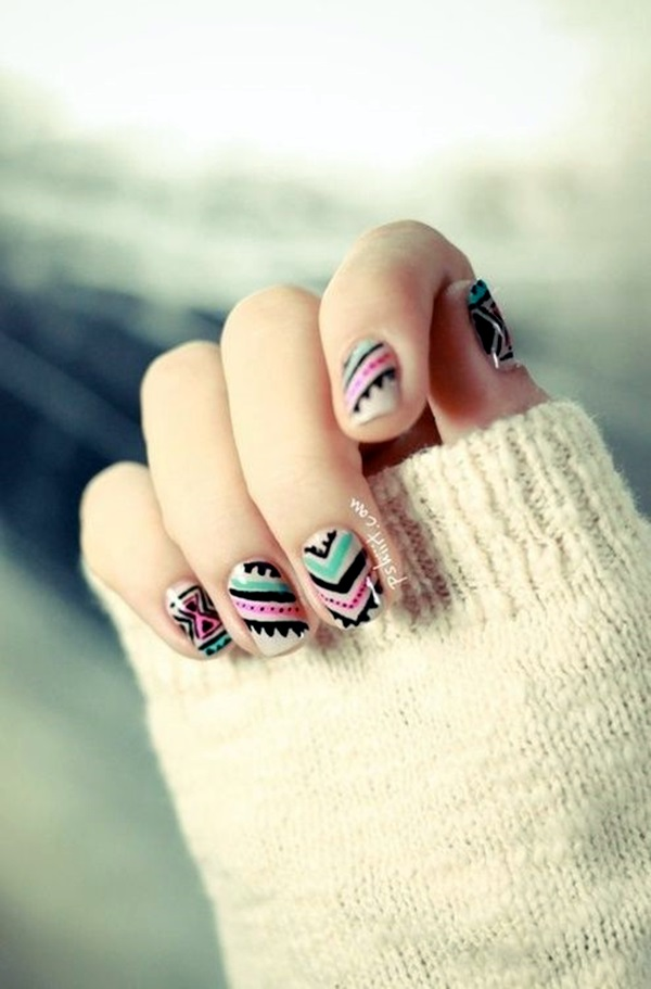 Winter-Nails-Designs-2015-8 Winter Nail Art Ideas - 80 Best Nail Designs This Winter