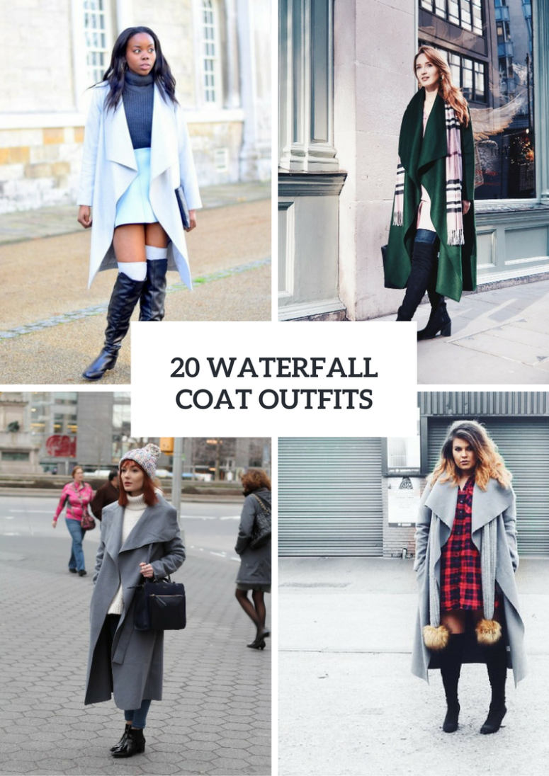 Fabulous Outfits With Waterfall Coats
