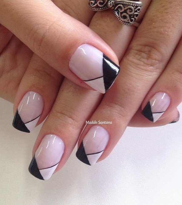 Generous-nail-art-for-winter Winter Nail Art Ideas - 80 Best Nail Designs This Winter