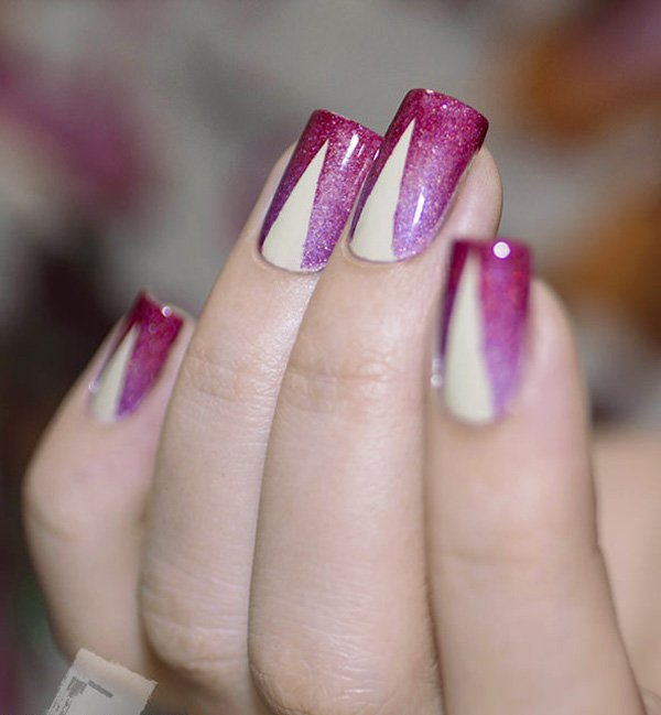 every-rose-has-its-thorn Winter Nail Art Ideas - 80 Best Nail Designs This Winter