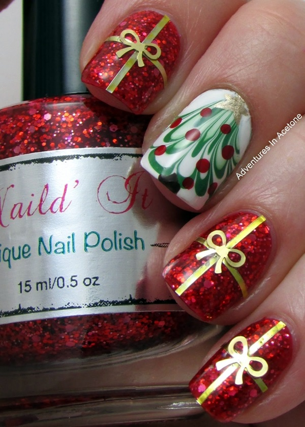 Winter-Nails-Designs-2015-41 Winter Nail Art Ideas - 80 Best Nail Designs This Winter