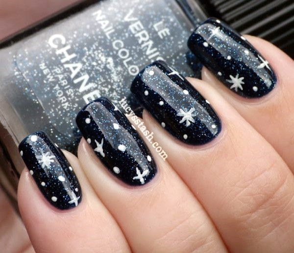 Winter-Nails-Designs-2015-12 Winter Nail Art Ideas - 80 Best Nail Designs This Winter