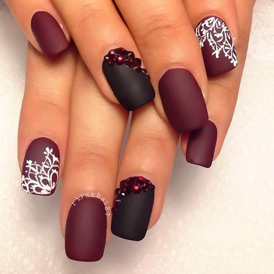 2069a7ef181d52008cd6a41ba65128cb Winter Nail Art Ideas - 80 Best Nail Designs This Winter
