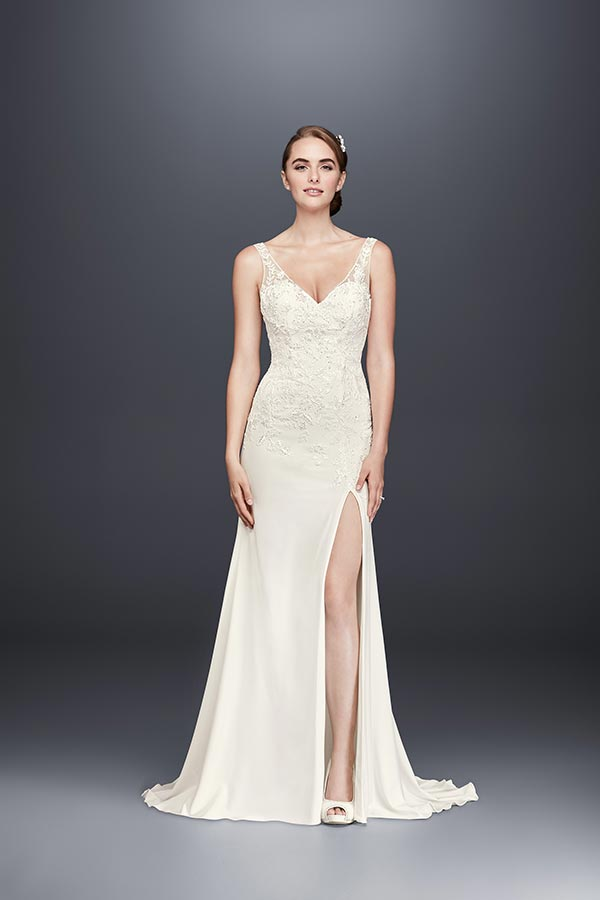 4 Wedding Dress Trends We're Fully Embracing with David's Bridal #weddingdresses #princessdresses